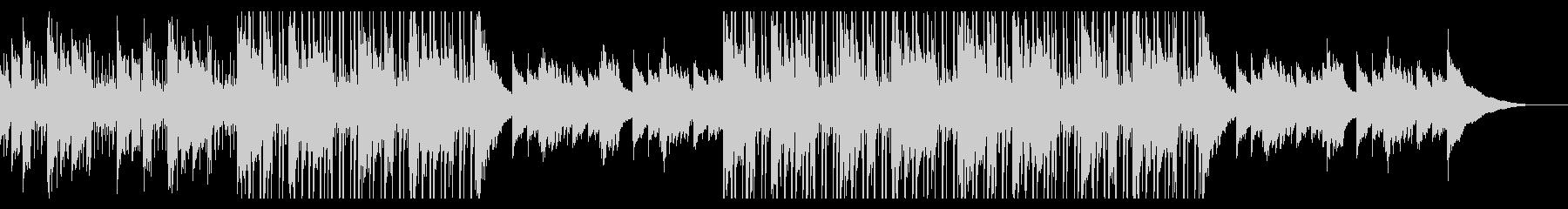 カフェの明るいジャズピアノ【キー+2】の未再生の波形