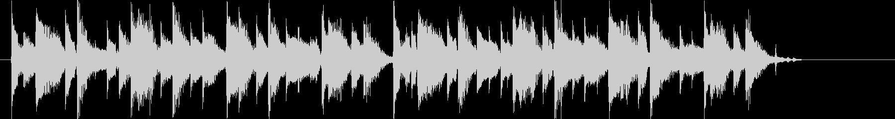 アコギの爽やかで感動的なCM曲Dの未再生の波形