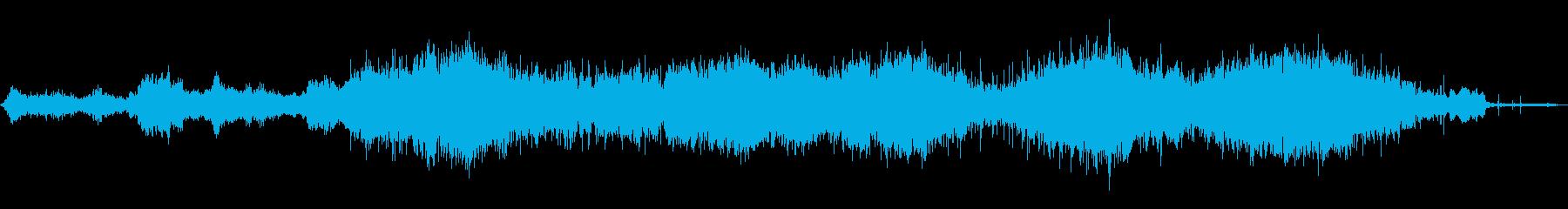 幼い子供たち:応援、拍手lapの再生済みの波形