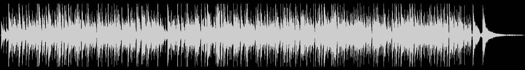 落ち着くボサノバギターBGM Shortの未再生の波形