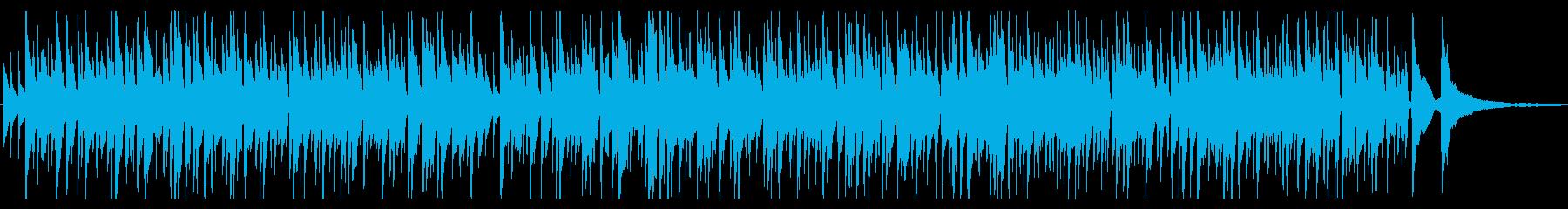 落ち着くボサノバギターBGM Shortの再生済みの波形