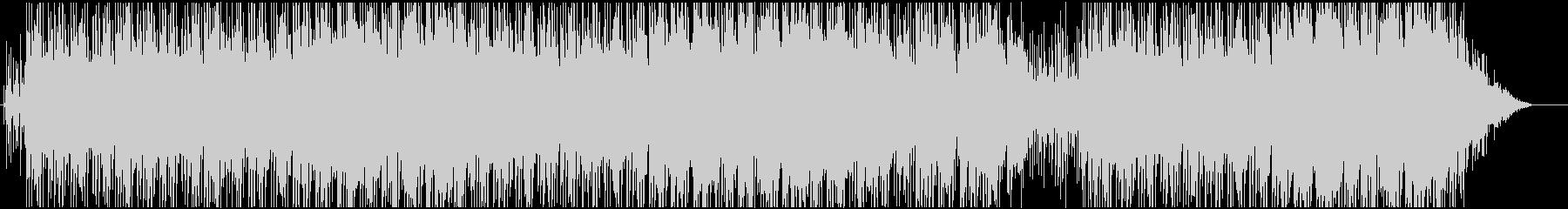 レゲェとヒップホップのクロスオーバーの未再生の波形