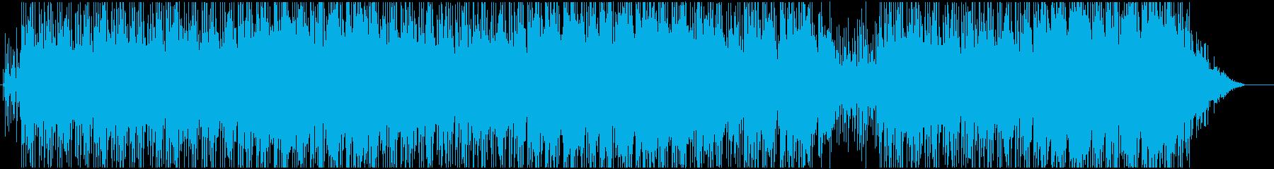 レゲェとヒップホップのクロスオーバーの再生済みの波形