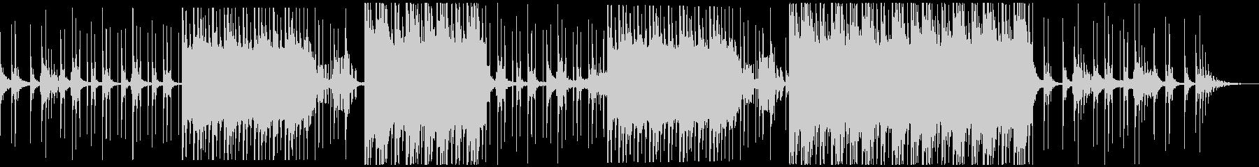 セツナ美しいトロピカルハウス アコギなしの未再生の波形