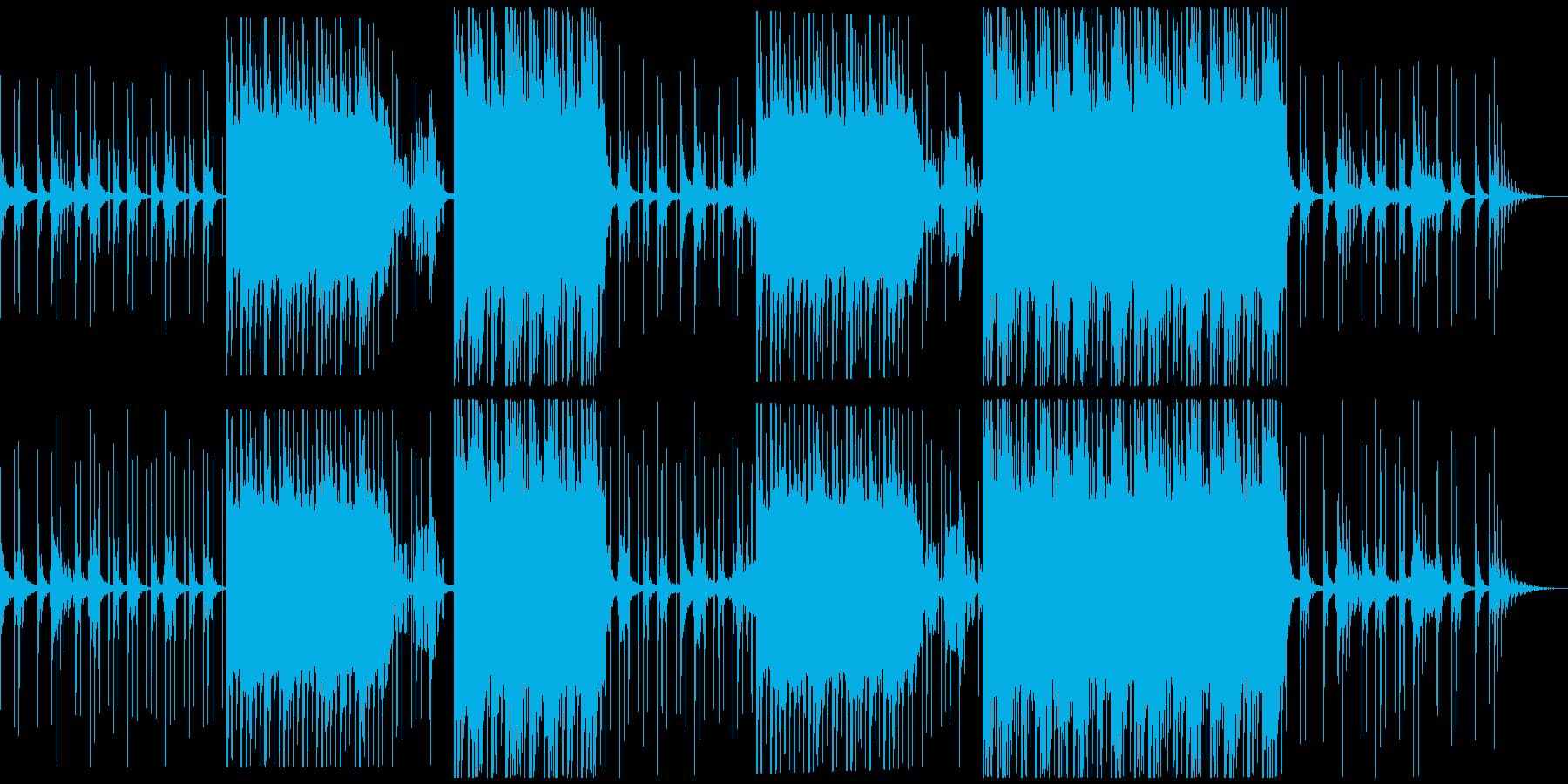 セツナ美しいトロピカルハウス アコギなしの再生済みの波形