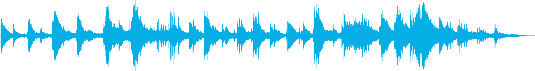 ヒーリングピアノ組曲 まどろみ 5の再生済みの波形