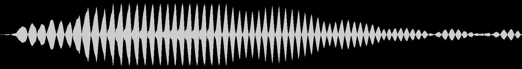 コミカルな選択・カーソル移動・決定音の未再生の波形