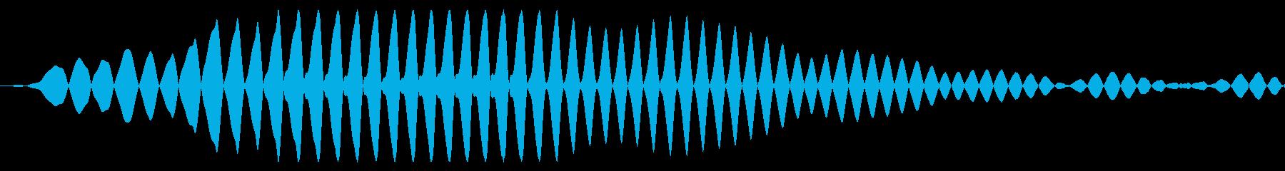コミカルな選択・カーソル移動・決定音の再生済みの波形