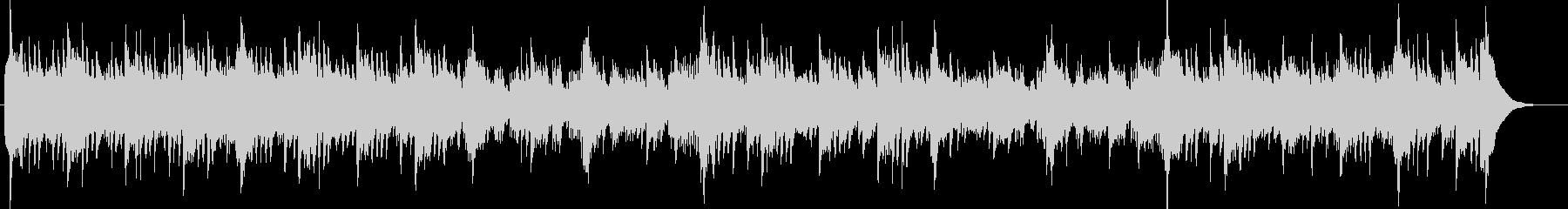 シタールとアコギ60'sラーガ・フォークの未再生の波形