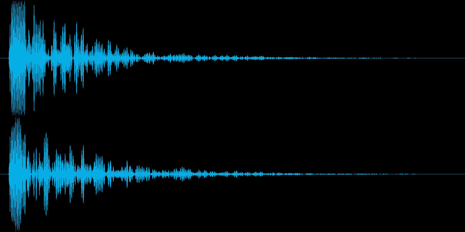 Knife 三徳包丁 トン 単発 2の再生済みの波形