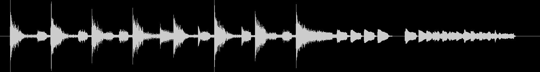 ブンチャブンチャ~テレレテッテレー 8の未再生の波形