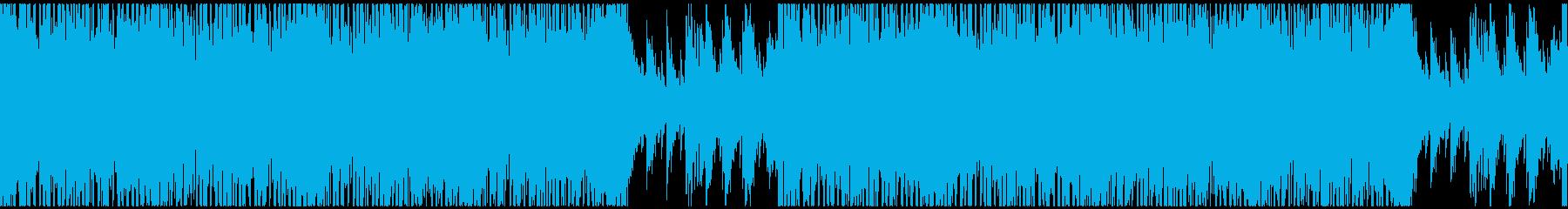 【ループ】爽やかストリングスポップ2の再生済みの波形
