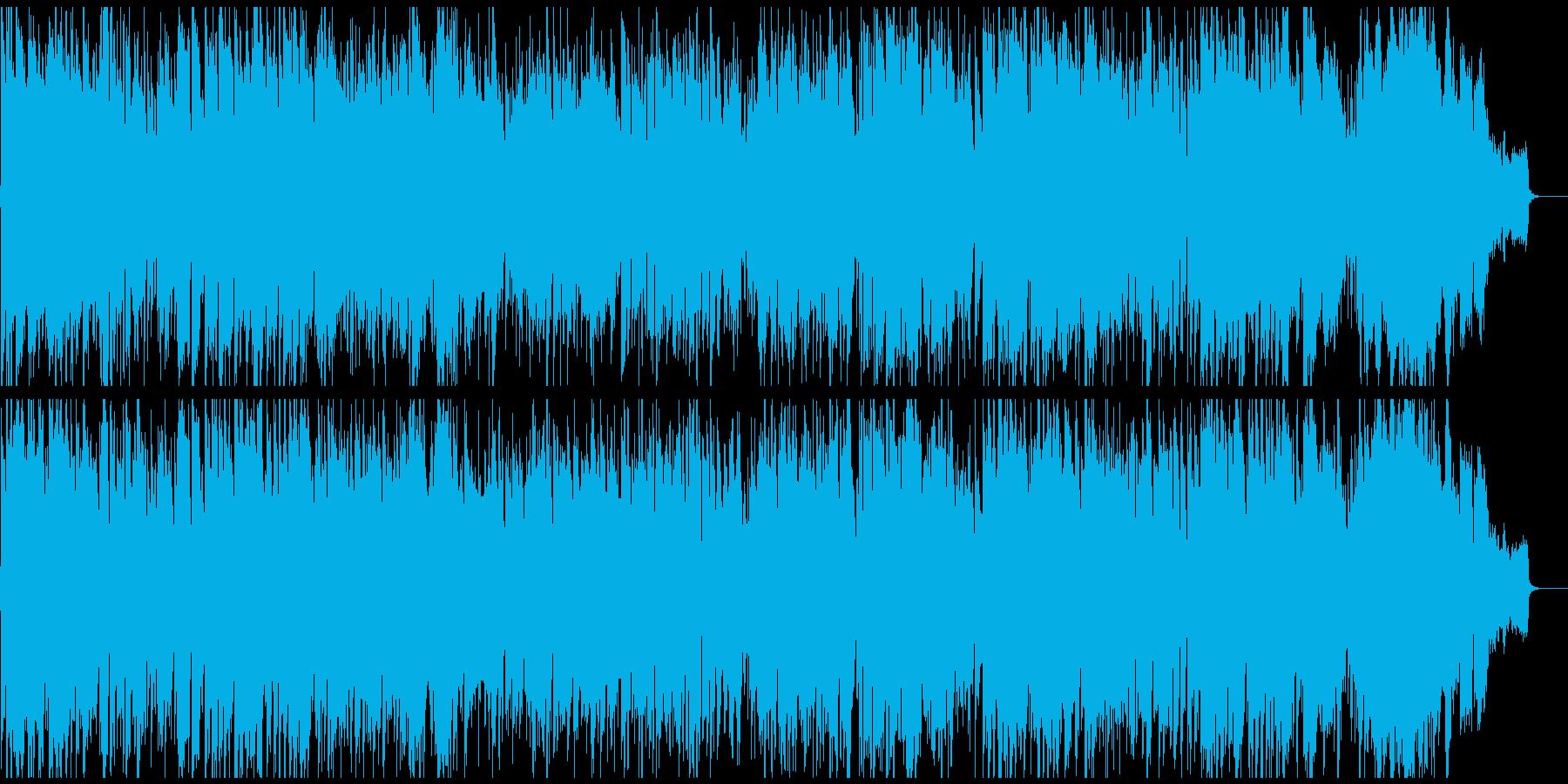 元気モリモリな正統派ジャズ、ハードバップの再生済みの波形