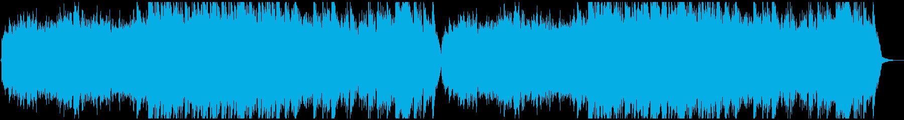 神秘的なダンジョンBGMの再生済みの波形