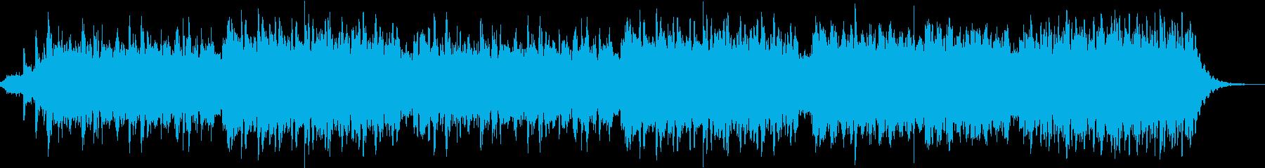 ヒーリング音楽を聴いて心をケアの再生済みの波形