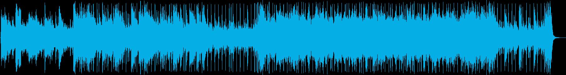 強敵との敗北バトル 踊る旋律ピアノロックの再生済みの波形