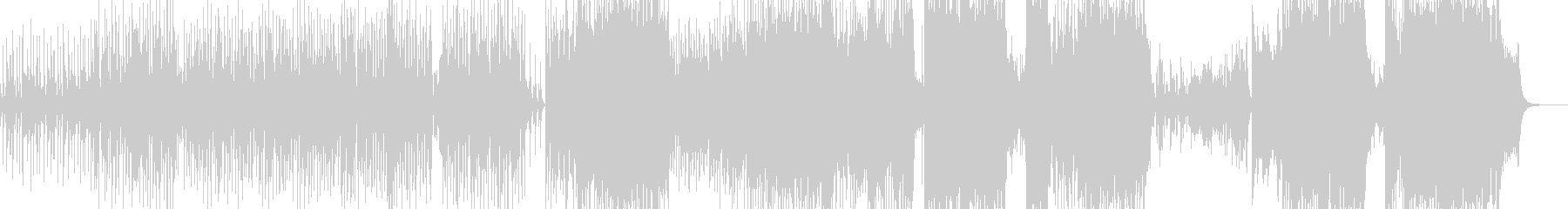 ウクレレ・南国のアコギテクノポップ +の未再生の波形
