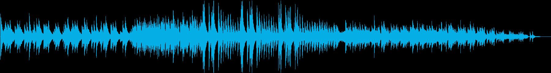 チャイコフスキー四季より7月刈り入れの歌の再生済みの波形