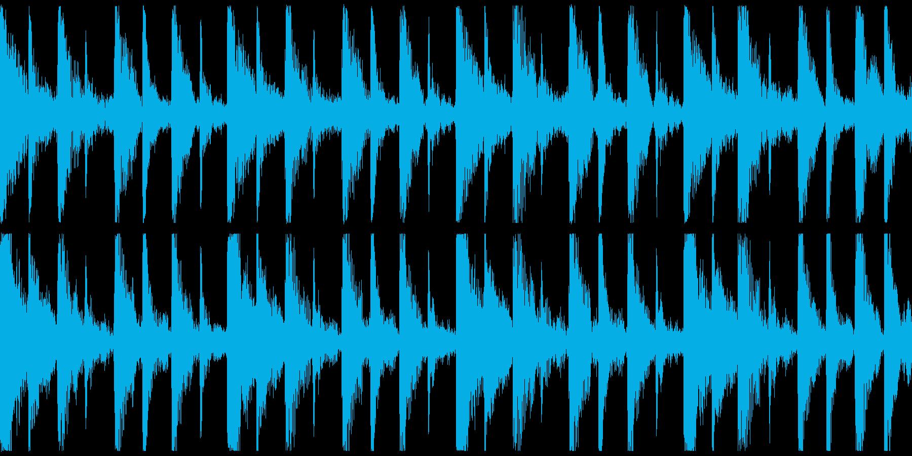 いたずら子供、ピチカート、ロゴ、ループ1の再生済みの波形