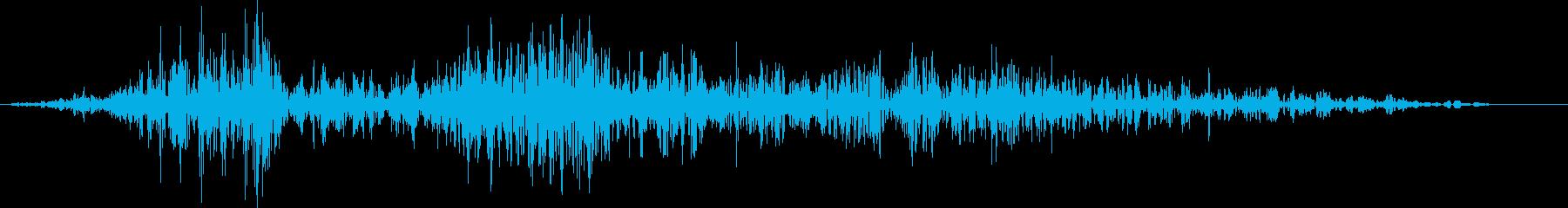 小型ゴブリンの鳴き声(やられた)の再生済みの波形