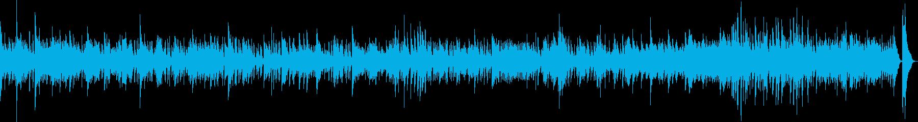 悲しみの雨(ピアノ・悲劇・後悔・手遅れ)の再生済みの波形