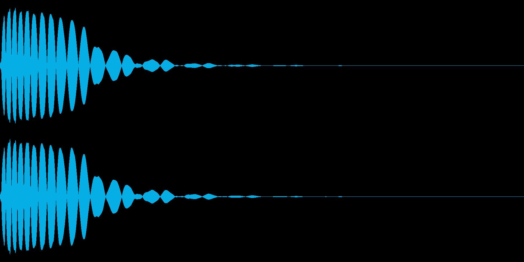 EDMやIDM系のバスドラム 06cの再生済みの波形