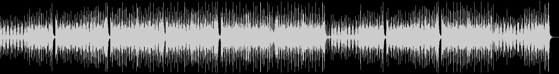 のんびり楽しいレゲエポップ:ギターピアノの未再生の波形