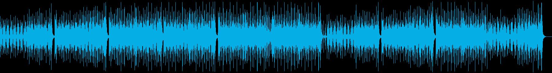 のんびり楽しいレゲエポップ:ギターピアノの再生済みの波形