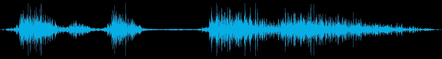 フライング ドラゴン ダメージ 死亡時の再生済みの波形