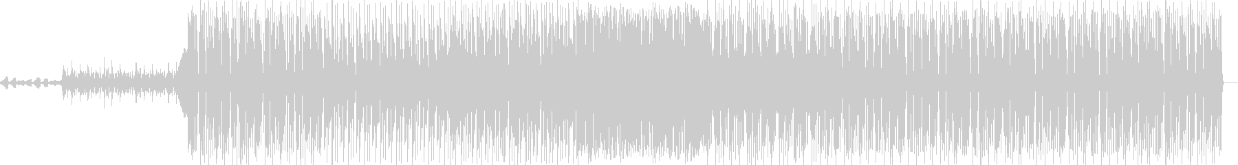 オーケストラとエレクトロニカの未再生の波形
