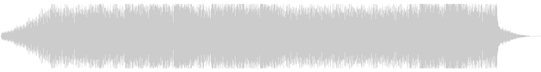 近未来的でダークなBGM No.2の未再生の波形