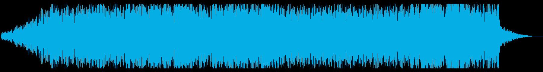 近未来的でダークなBGM No.2の再生済みの波形