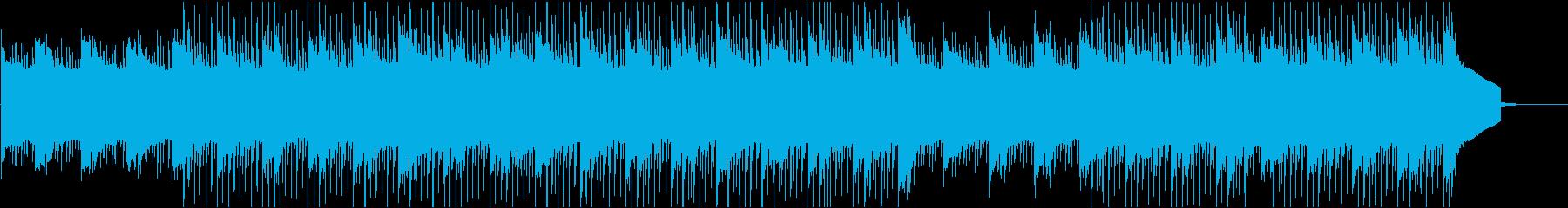 透明感のあるコーポレート/アンビエントの再生済みの波形
