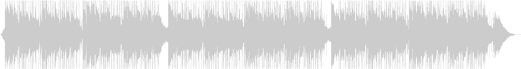 リラックスラウンジの未再生の波形