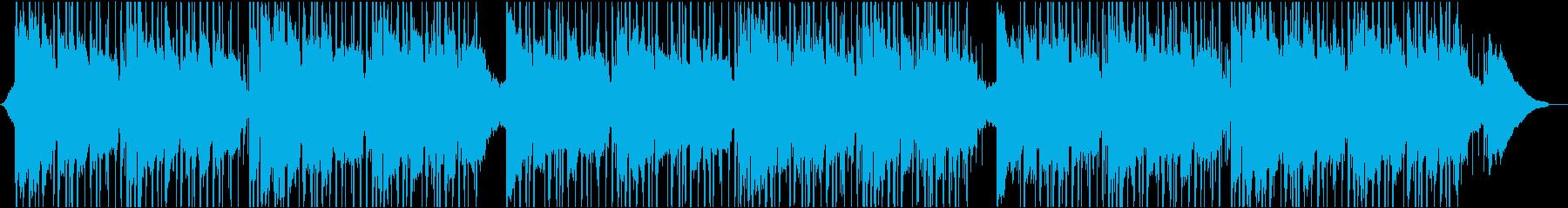 リラックスラウンジの再生済みの波形