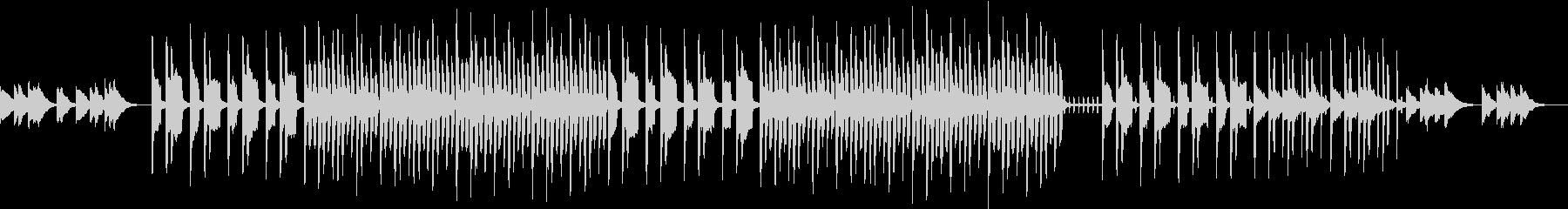 ヘヴィなシンセのSFホラーな曲の未再生の波形