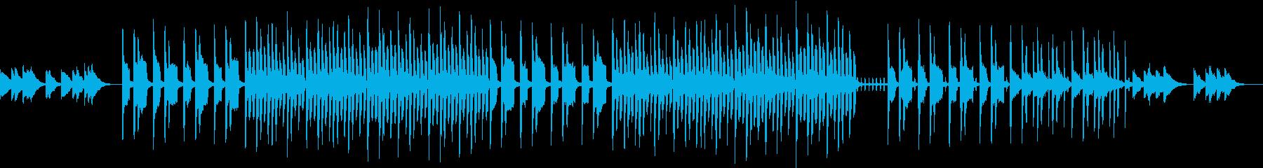 ヘヴィなシンセのSFホラーな曲の再生済みの波形