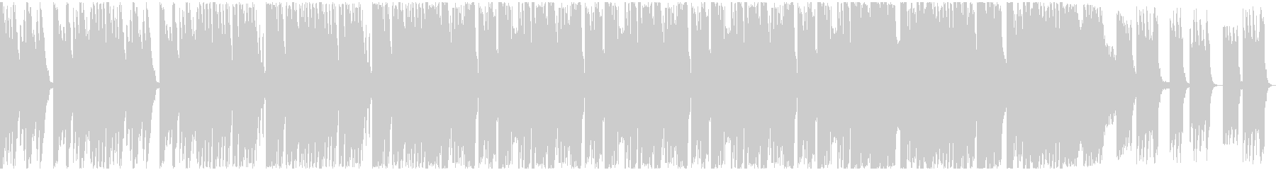 エレクトロ フューチャーベースの未再生の波形