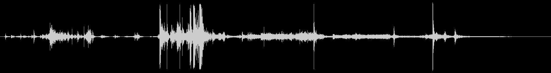 Vcrデッキ; VhsテープをVc...の未再生の波形