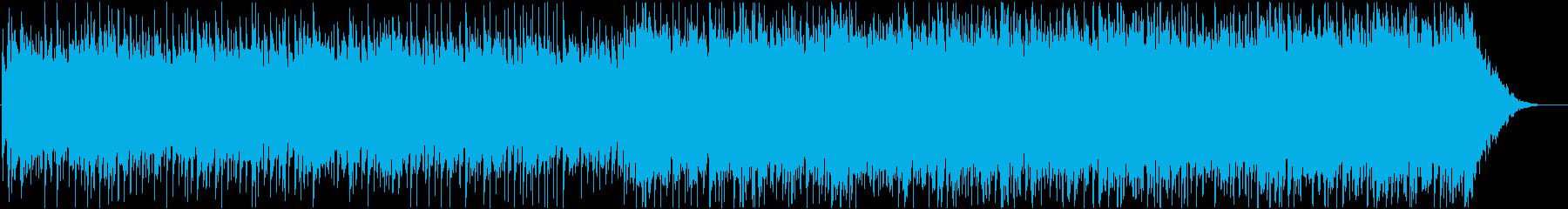 爽やかなバンド系ポップス♪リズム抜きの再生済みの波形