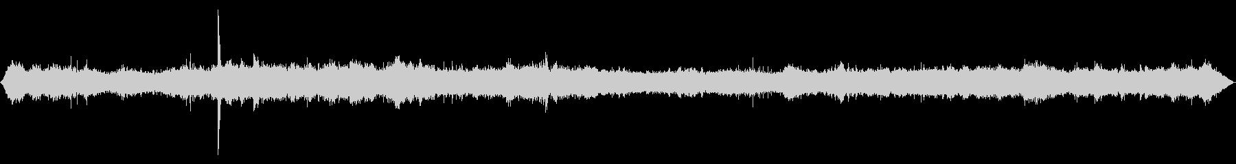 ショベルカーなどが工事をしている音の未再生の波形