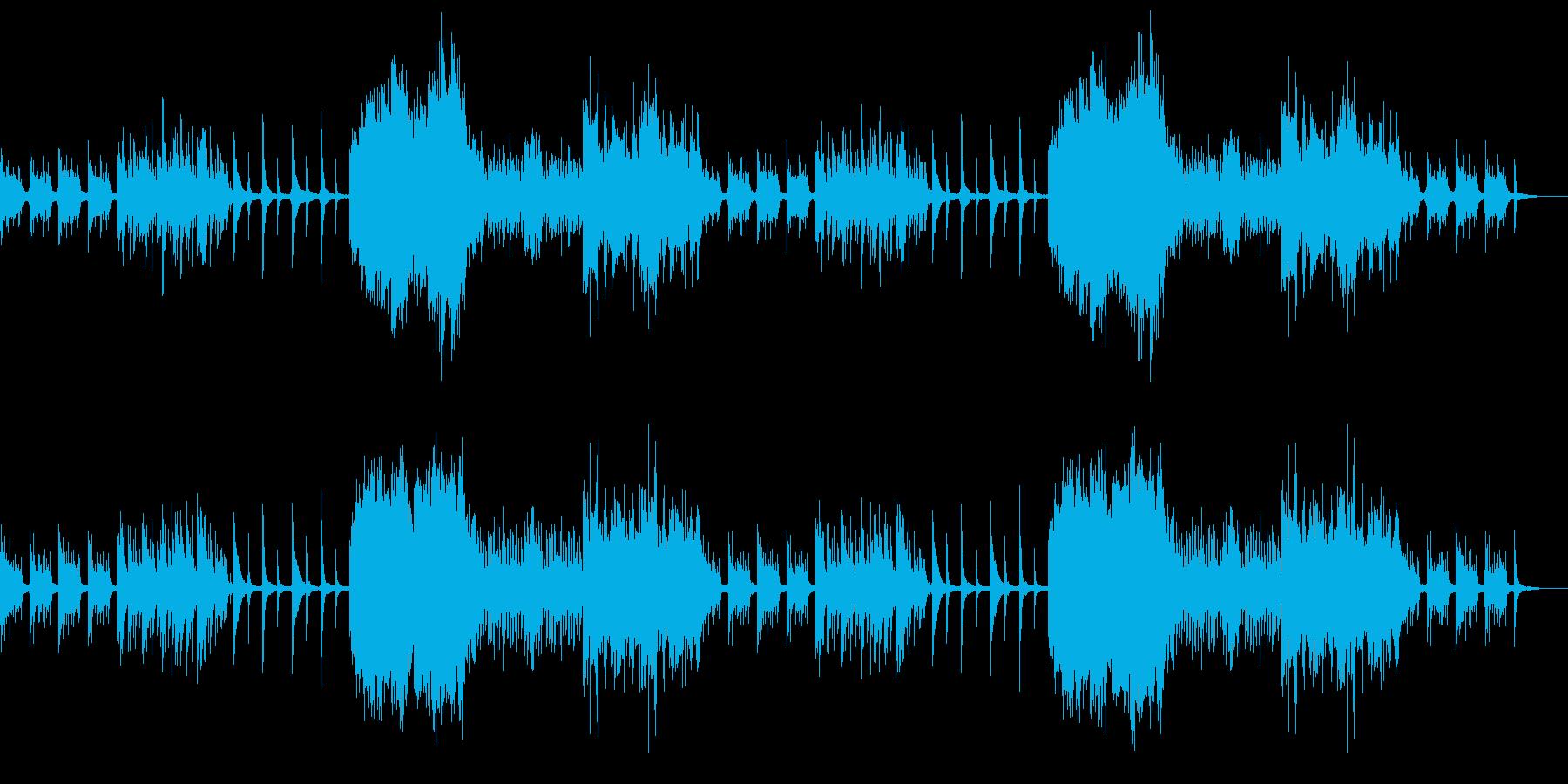 ピアノソロで個性とプライドある映像にの再生済みの波形
