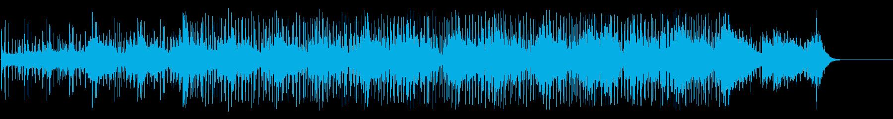 危険な香りのクラブ系マイナーBGの再生済みの波形