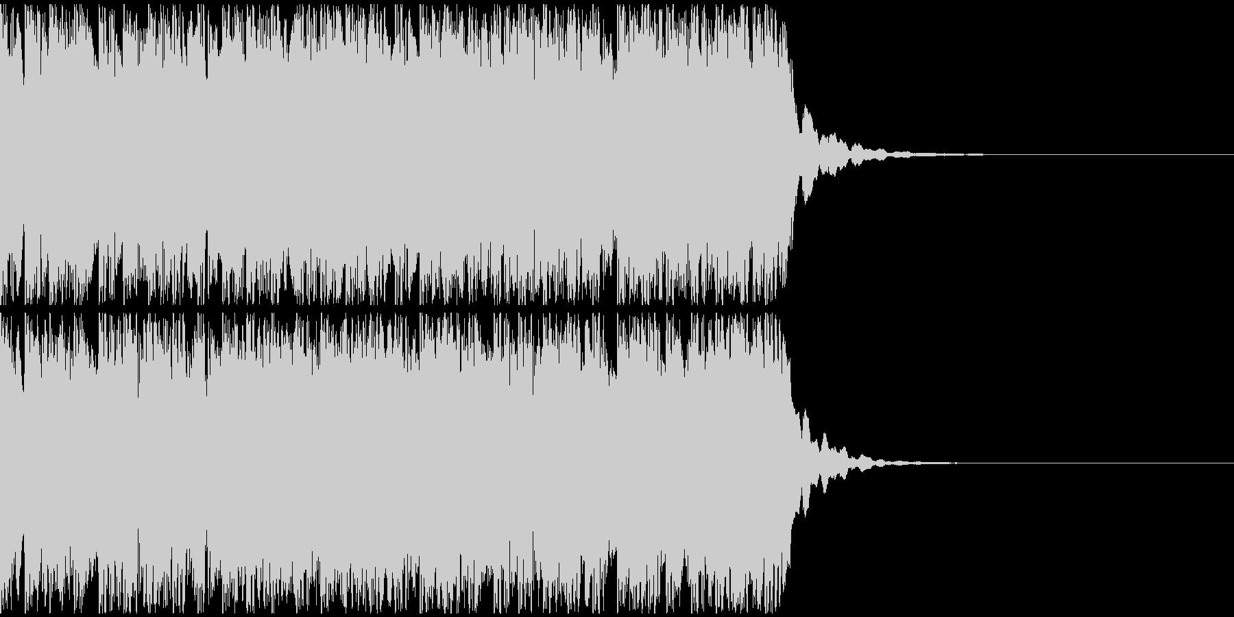 【アンビエント】ロング1、ジングル2の未再生の波形