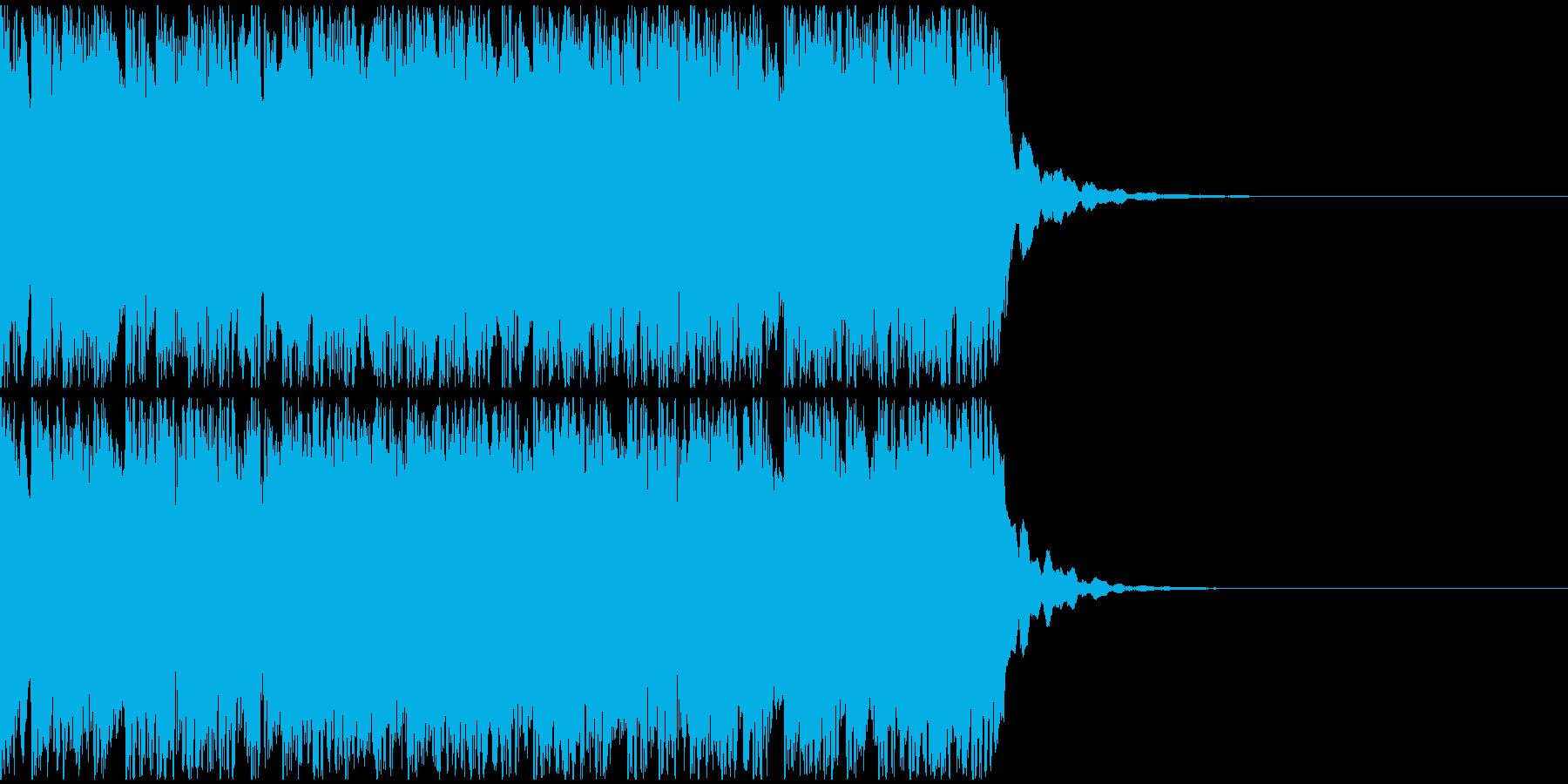 【アンビエント】ロング1、ジングル2の再生済みの波形