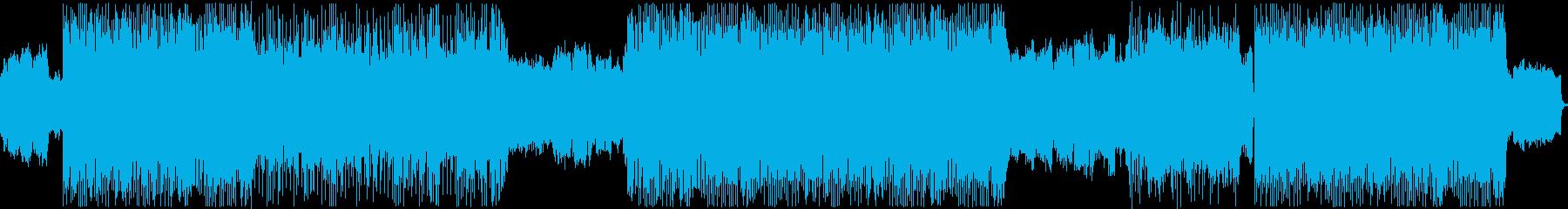 ゲーム バトルの再生済みの波形