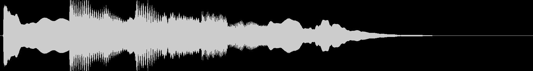 キンコンカンコーン(インフォメーション…の未再生の波形