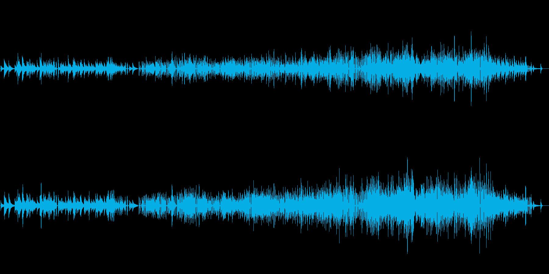 生ピアノソロ・クリスマス・ジャズアレンジの再生済みの波形