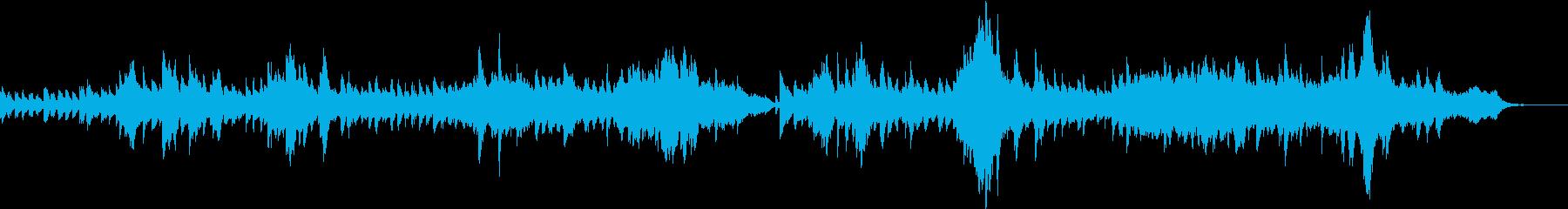 ワルツのメロディーでノスタルジック...の再生済みの波形