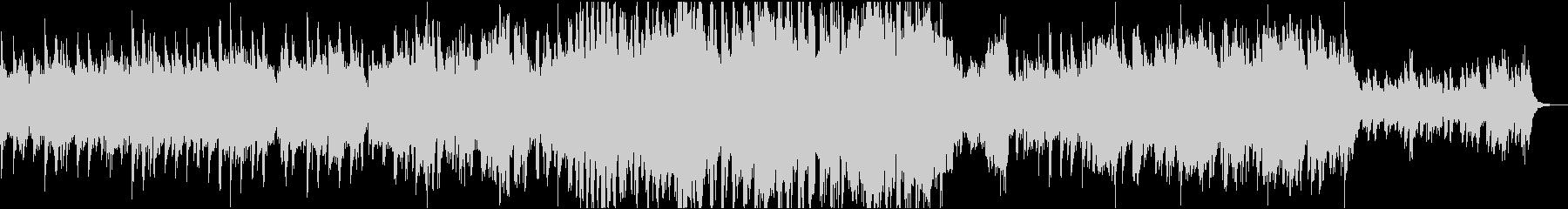 CM/企業VPに ピアノ壮大感動BGMの未再生の波形